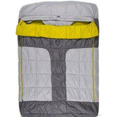 The waterproof NEMO Symphony Luxury Duo Double Sleeping Bag