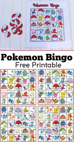 Free Pokemon Bingo Sport Printable - Do Your Kids Love Pokemon? Obtain this Pokemon Bingo Sport. Birthday Party Games, 6th Birthday Parties, Birthday Fun, Carnival Birthday, Birthday Ideas, 10th Birthday, Turtle Birthday, Frozen Birthday, Pokemon Craft
