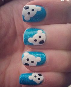 Polar bear nails
