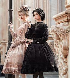 Lost Angel -Bolangte- Vintage Classic Lolita OP Dress Lolita Dress, Feminine, Angel, Elegant, Classic, Lost, Outfits, Shopping, Vintage