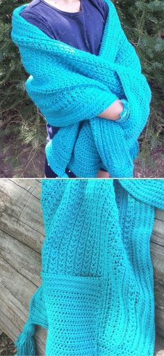 Crochet Prayer Shawls, Crochet Shawls And Wraps, Crochet Scarves, Crochet Clothes, Crochet Scarf Easy, Crochet Cardigan, Free Crochet, Crochet Crafts, Crochet Projects