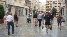 Los cruceristas toman el casco histórico de Cartagena