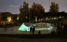 The UK Opens Its First Glow-in-the-Dark Skatepark | The Creators Project