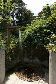 Keep It Cool: 15 Inspiring Outdoor Showers & Bathrooms   Apartment Therapy