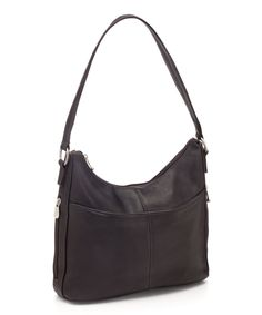 Take a look at this Le Donne Café Bella Leather Hobo today!