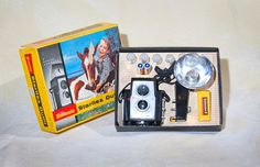 Brownie Starflex Outfit Camera with Flash Kit by salvageandco, $40.00