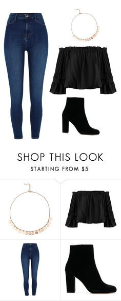 """Untitled #85"" by kacis-kacis on Polyvore featuring Sans Souci, River Island and IRO"