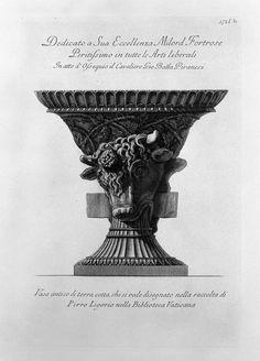 ❤ - Giovanni Battista Piranesi (1720-1778).