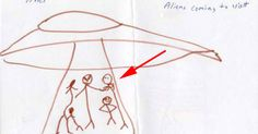 These Children's Drawings Of The Aliens Who Abducted Them Are Chilling