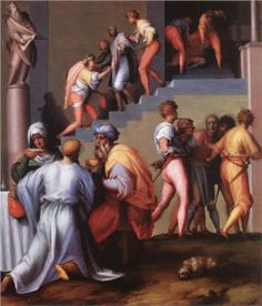 Punishment of the Baker by Jacomo Pontormo