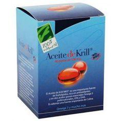 100% Natural Aceite d   - KRILL -   NKO 90 perlas   = =  100% Natural es una fuente inmejorable d ácidos grasos Omega-3 d cadena larga (EPA y DHA), Omega-6 y Omega-9 unidos d forma nat. a fosfolípidos y antioxidantes, colina y antioxidantes c/o la astaxantina, vitaminas A, D, E.         - Tomar d 1 a 3 perlas al día junto c la comida.    Dosis d refuerzo, primeros 2 meses: 2-3 perlas.   Dosis d mantenimiento: 1 perla al día .......... 1-0-0