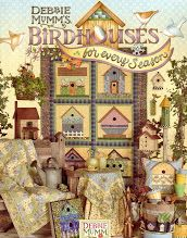 Birdhouses every season book pattern Quilts
