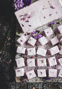 Homemade Hibiscus Marshmallows