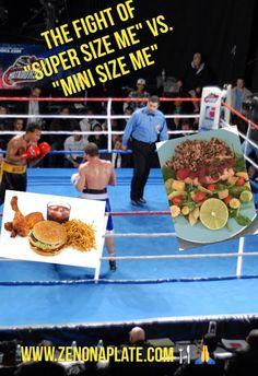 "SIMPLY DELISH : THE FIGHT OF ""SUPER SIZE ME"" VS. ""MINI SIZE ME"""