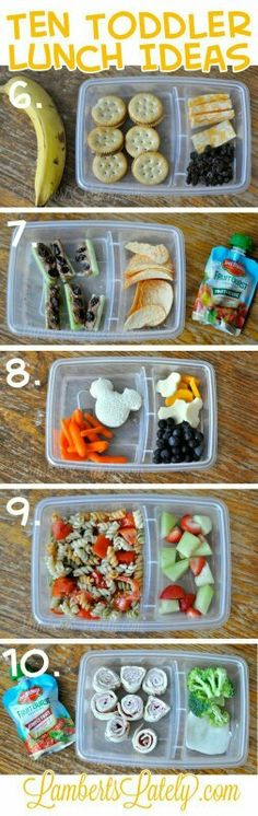 Ten (Quick and Easy) Toddler Lunch Ideas 2019 Ten (Quick and Easy) Toddler School Lunch Ideas (Brought to you by Del Monte) The post Ten (Quick and Easy) Toddler Lunch Ideas 2019 appeared first on Toddlers ideas. Lunch Snacks, Healthy Snacks, Healthy Eating, Healthy Recipes, Lunch Box, Lunch Time, Kid Snacks, Easy Snacks, Easy Toddler Lunches