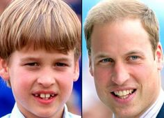 Prince William - then and now