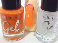 Smalto Gel Arancione + Top Coat Semipermanente No UV Moda Estate Donna