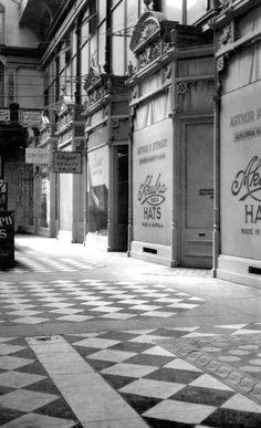 Interior of the Adelaide Arcade in South Australia. Aussie Australia, Australia Travel, Adelaide South Australia, Sister Day, Kangaroo Island, Vintage Architecture, Historical Photos, Old Photos, Arcade