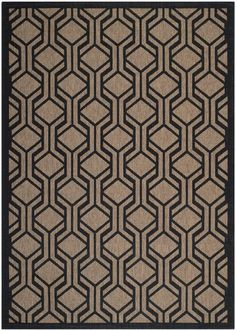 Safavieh Brown / Black Courtyard Courtyard X Rectangle Synthetic Power Loomed Contemporary Outdoor Area Rug Textured Carpet, Patterned Carpet, Textured Walls, Floor Patterns, Fabric Patterns, Fabric Textures, Textures Patterns, Cheap Rugs, Indoor Outdoor Area Rugs