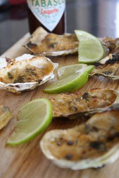 Spicy Tequila Oysters! <3