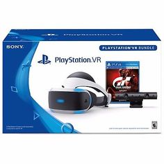 Buy a used Sony PlayStation VR Gran Turismo Sport Bundle by comparing retail prices in UK. ✅Compare prices by leading retailers that sells ⭐Used Sony PlayStation VR Gran Turismo Sport Bundle for cheap prices. Playstation Move, Newest Playstation, Sony, Vr Camera, Vr Headset, Virtual Reality, Black White, Product Launch, Sports