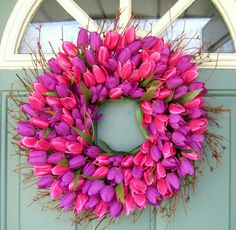 Spring Wreath by countryprim on Etsy, $40.00