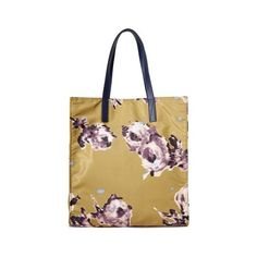 Marc Jacobs B.Y.O.T. Brocade Floral Tote (1,320 CNY) ❤ liked on Polyvore featuring bags, handbags, tote bags, chartreuse, marc jacobs tote bag, lightweight tote, pocket tote, pocket purse and floral handbags