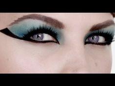 Cleopatra Make-up Tutorial (Elizabeth Taylor Style)