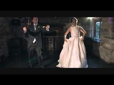 The First Dance Of Lisa And Chris Married On August Filmed By North Wales Wedding Videos At Plas Isaf Corwen