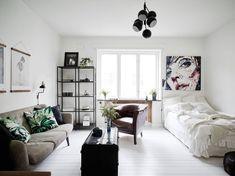 Deze Zweedse studio geeft inspiratie voor het inrichten van een kleine ruimte - Roomed