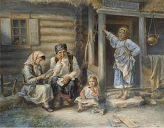 Стрелковский-Алексей-Иванович-1819-—-1904-«Сельская-школа»