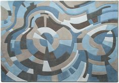 Terre Des Hommes Rug Collection from Liz Eeuwes