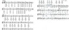 Písničky | Výtvarná výchova | 2. stránka Sheet Music, Periodic Table, Periodic Table Chart, Periotic Table, Music Sheets