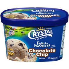Crystal Ice Cream Pot