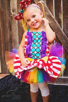 Clown Costume by Whimsy and Whirl