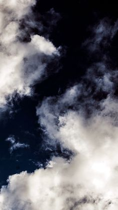 Cloud Dark Blue Sky Nature Summer #iPhone #5s #wallpaper