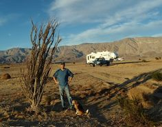 Boondocking near Borrego Springs, California
