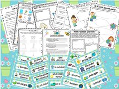 This file includes a French package for Earth Day, though it can also be used any time during the spring or during units about the environment and energy. The file includes 40 vocabulary cards related to Earth Day and the environment. It also includes 10 fun activities that students can complete during this unit. Help Teaching, Teaching Resources, Teaching Ideas, Core French, French Class, French Websites, French Education, French General, French Stuff