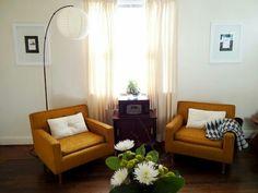 Sofa drool