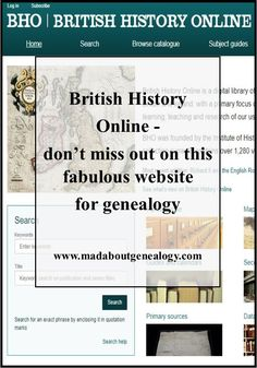 This one website you won't want to ignore for your genealogy research. It has records there that it would be hard to find, if not impossible, elsewhere online. A family history goldmine.