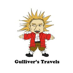 gulliver's travels character design