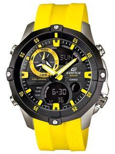 Casio Edifice Quartz Advanced Marine Line (August Watch # (Men Watch) Amazing Watches, Beautiful Watches, Cool Watches, Watches For Men, Relogio Casio Edifice, Casio Vintage, Affordable Watches, Sport Watches, Casio Watch