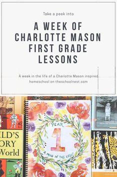 A Week of Charlotte Mason First Grade Lessons — schoolnest
