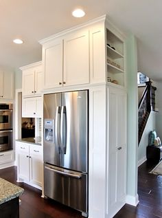 What storage! Made By: Lakeside Cabinets and Woodworking