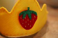 Strawberry Crown @Trailer Gypsy, hey Auntie, Lana needs a bday crown!! :)