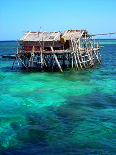 Gypsy of the sea, bajo people, Indonesia