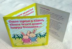 Happy Bunnies Leaflet