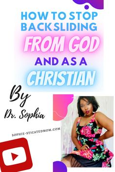 Let's talk about how to stop backsliding as a Christian and from God.  Obviously, we are people and none of us are perfect BUT we should at least try to do what God is calling us to do and to not continuously backslide.  This will tell you why and how to not backslide. Christian advice and Bible study. Christian Videos, Christian Faith, Christian Encouragement, Christian Inspiration, Told You So, Bible, Advice, Study, God