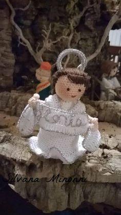 #angelo #gloria #presepe #nativity#crochet #amigurumi #uncinetto #presepe #fattoamano #handmade #creazioni  #filo #cotone