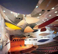 Aula Magna - Universidad Central de Caracas - Carlos Raúl Villanueva and Alexander Calder